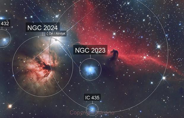IC434 and NGC2024