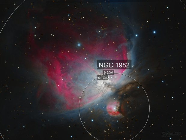 M42 Great Orion Nebula - RGB