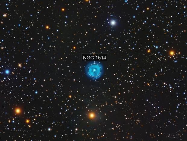 NGC 1514 Crystal Ball Nebula
