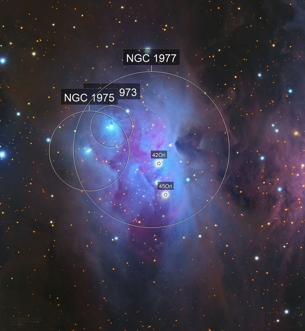 NGC 1977 Running Man Nebula