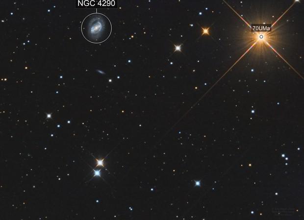 M40 (Winnecke 4), NGC 4290, PGC 39934