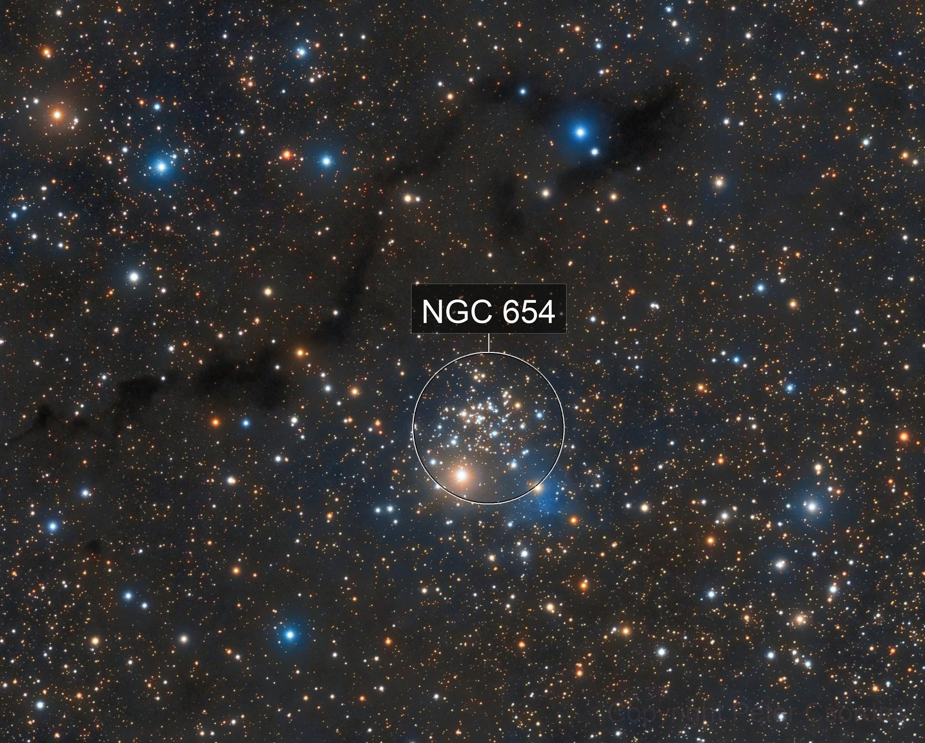 NGC654, VdB6, LDN1332