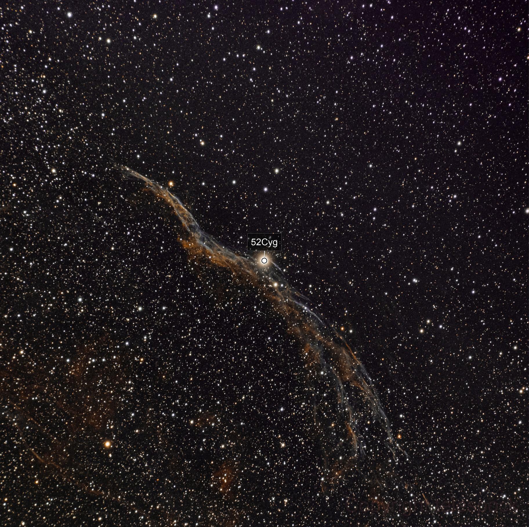 dentelles NGC6960