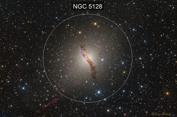 Centaurus A / NGC 5128 / Caldwell 77