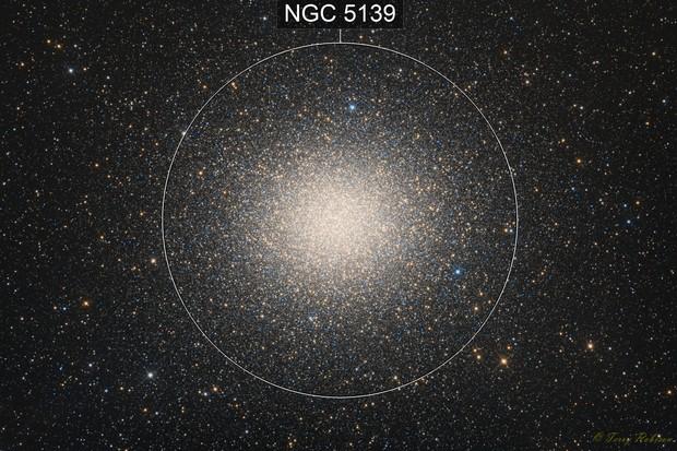 Omega Centauri – Globular Cluster in Centaurus