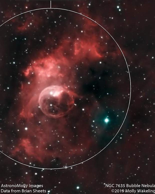 NGC 7635 Bubble Nebula #5 - HOO