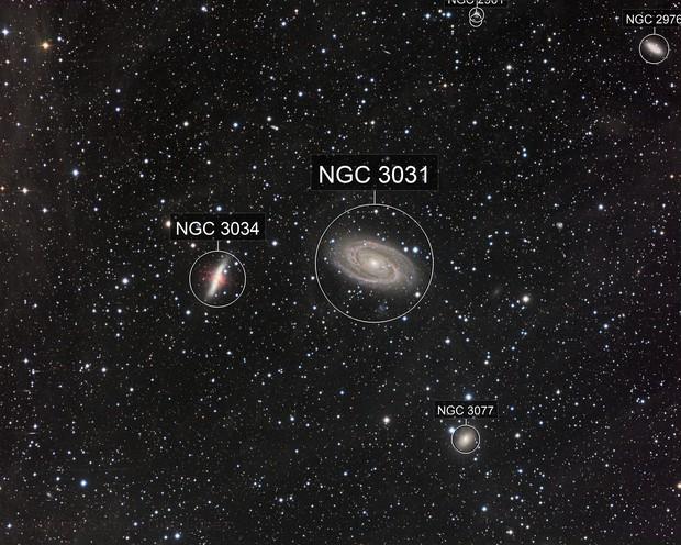 M81 & M82 (Bode's nebulae)