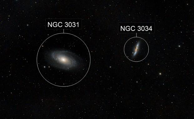 M81, M82 Galaxies