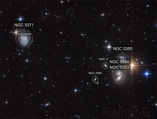 NGC5390/5371 and Hickson 68