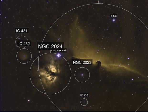IC0434 on Narrow Band