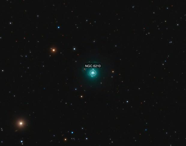 The Turtle Nebula, NGC 6210 ( PK 43+37.1)