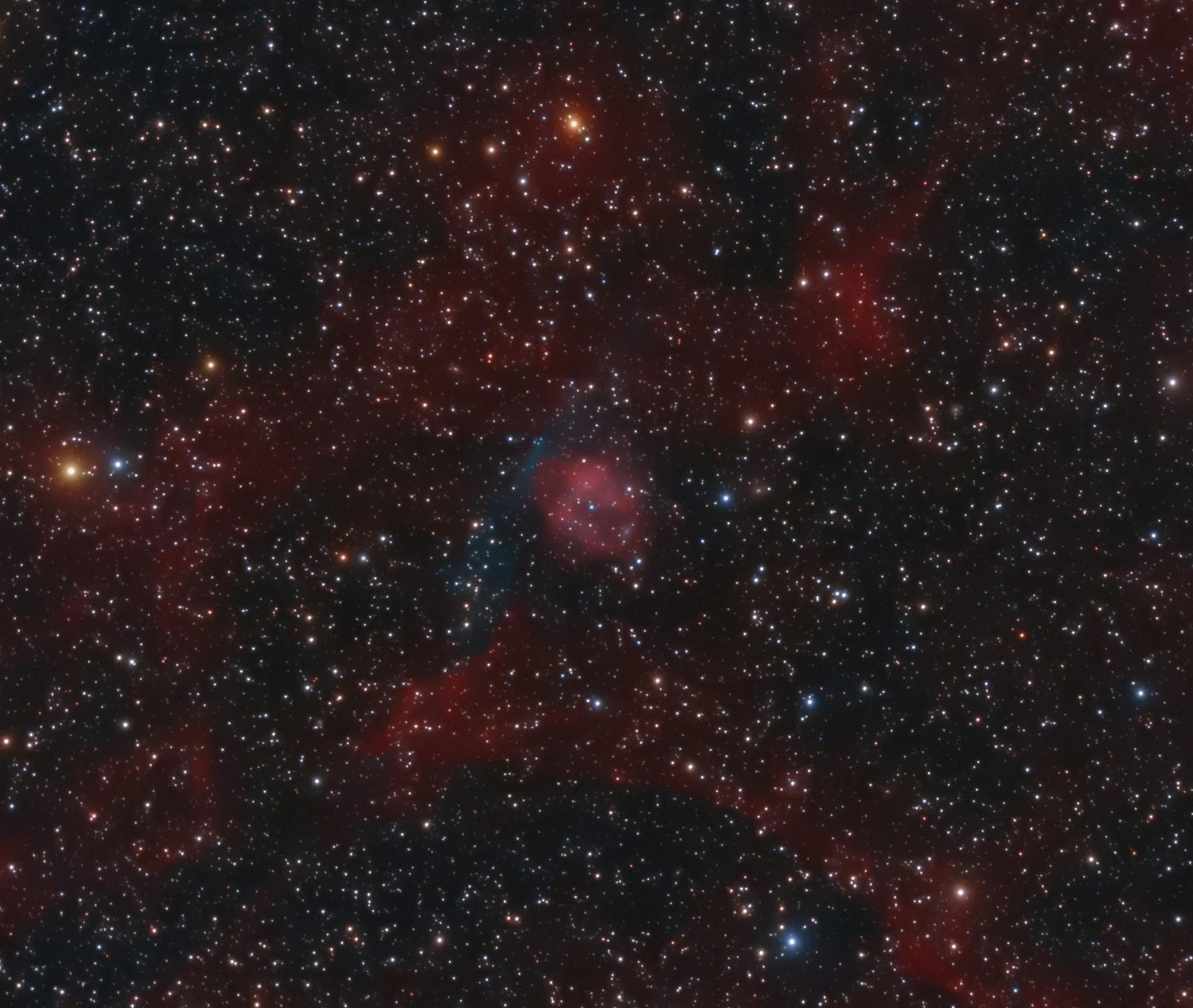 Planetary nebula AMU 1 (PN G075.9+11.6)