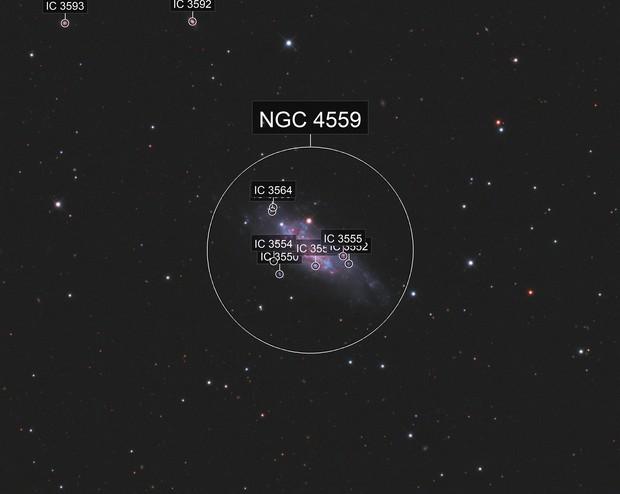 NGC4559 LRGB