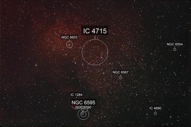 IC 4715_Kleine Sagittarius Wolke _Messier 24