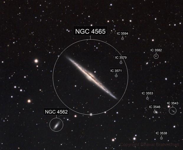 NGC 4565 - Needle Galaxy (LRGB)
