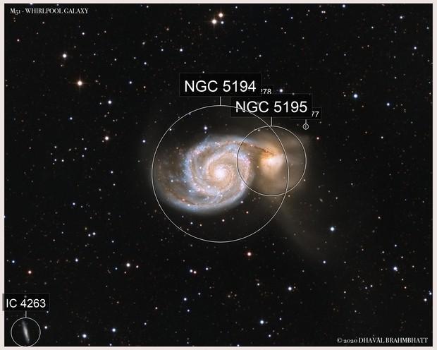 M51 - Whirlpool Galaxy (L+HaRGB)