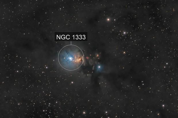 NGC 1333 region in Perseus