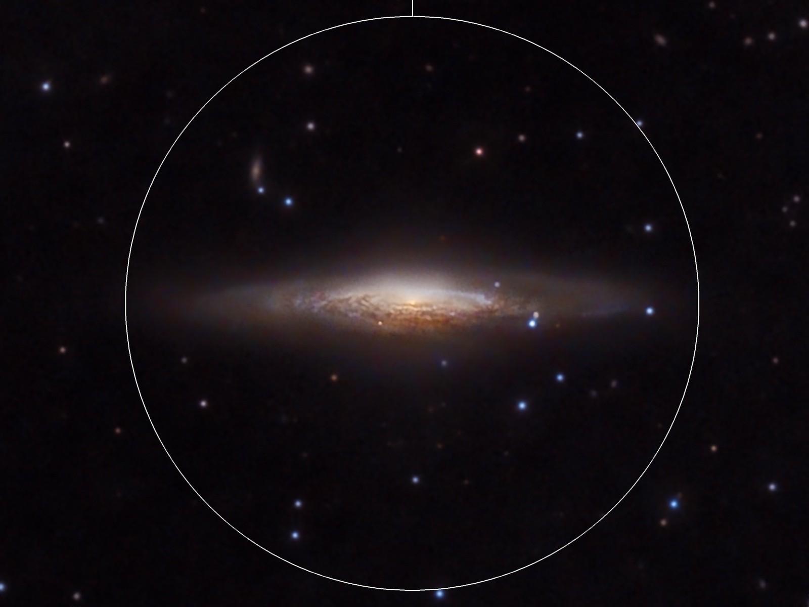 NGC 2683,  The UFO - Galaxy
