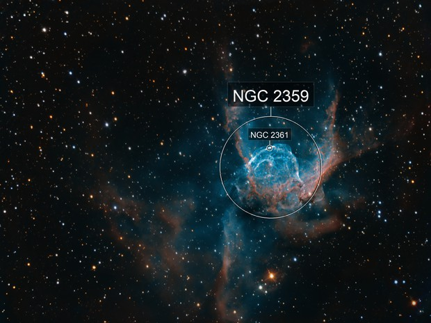 NGC 2359 - Thors Helmet