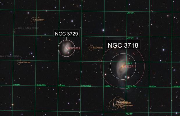 Arp 214 (ngc 3718)