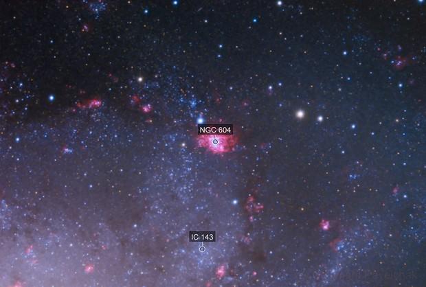 NGC 604 in the Triangulum Galaxy M33