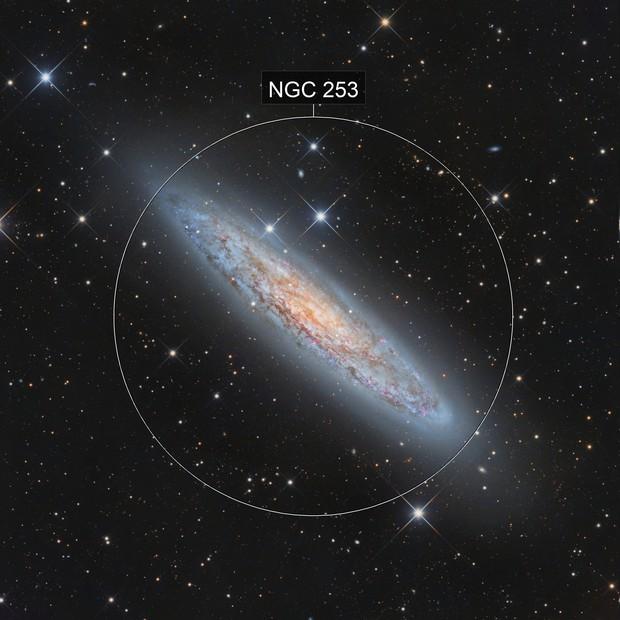 NGC 253, Sculptor galaxy