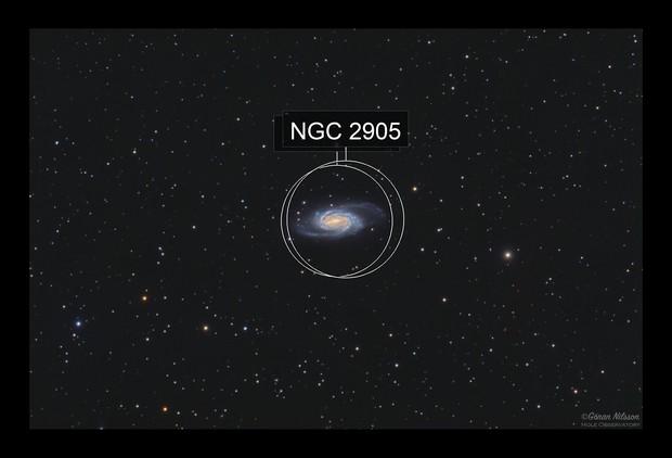 NGC 2903 - first light with my Mesu 200