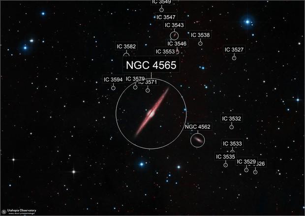 NGC 4565, The Needle Galaxy