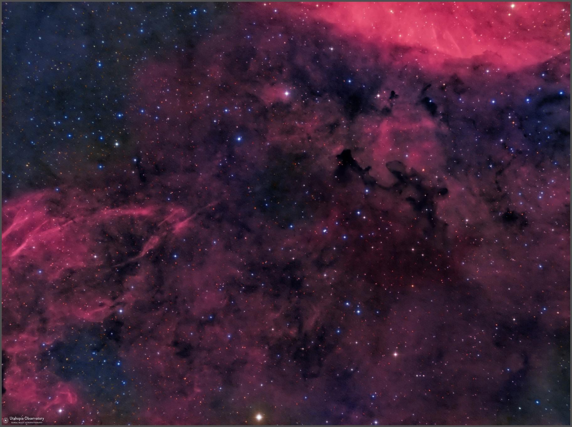 LDN881 Dark Nebula