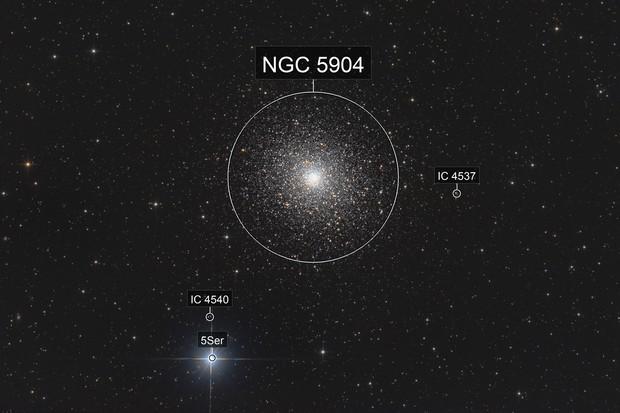 Messier 5 - globular cluster in Serpens