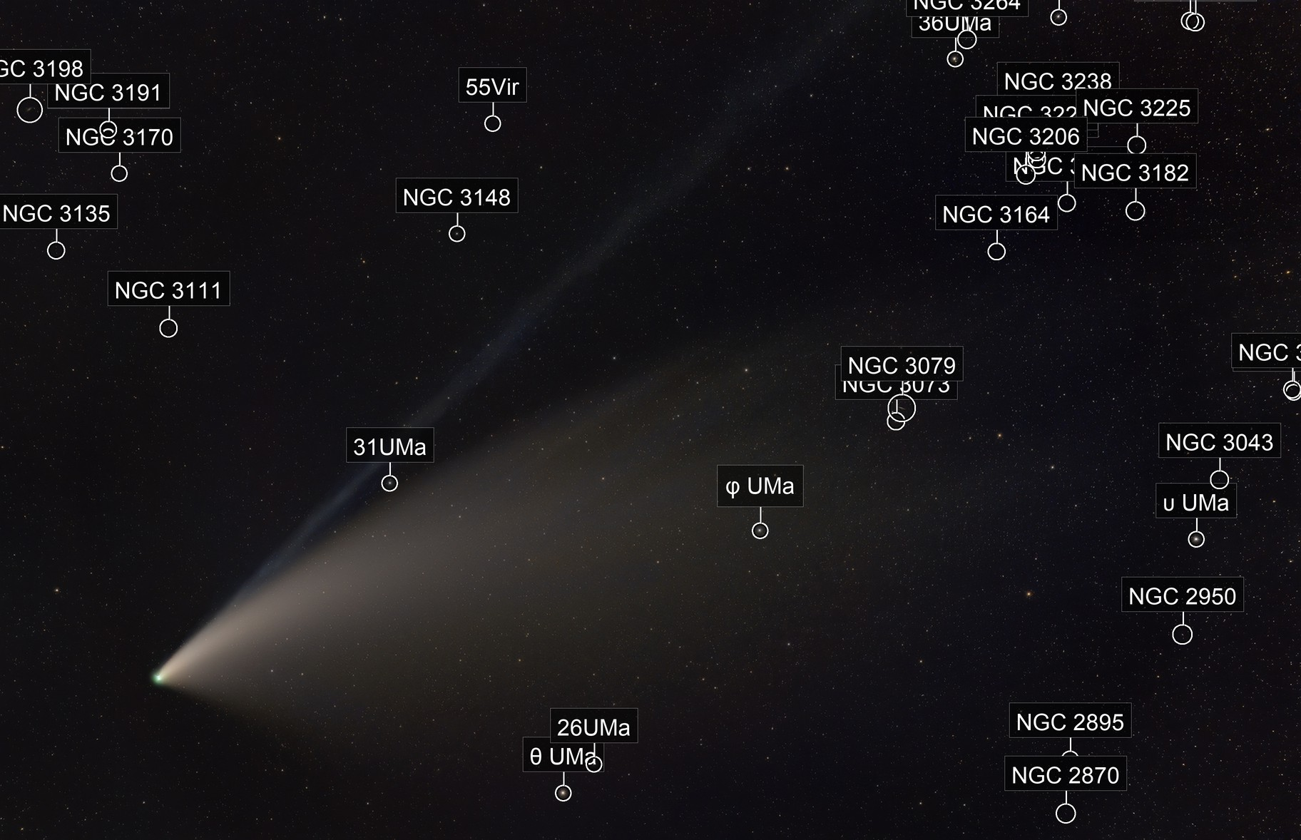 Comet C/2020 F3 - Neowise on July 20th, 2020