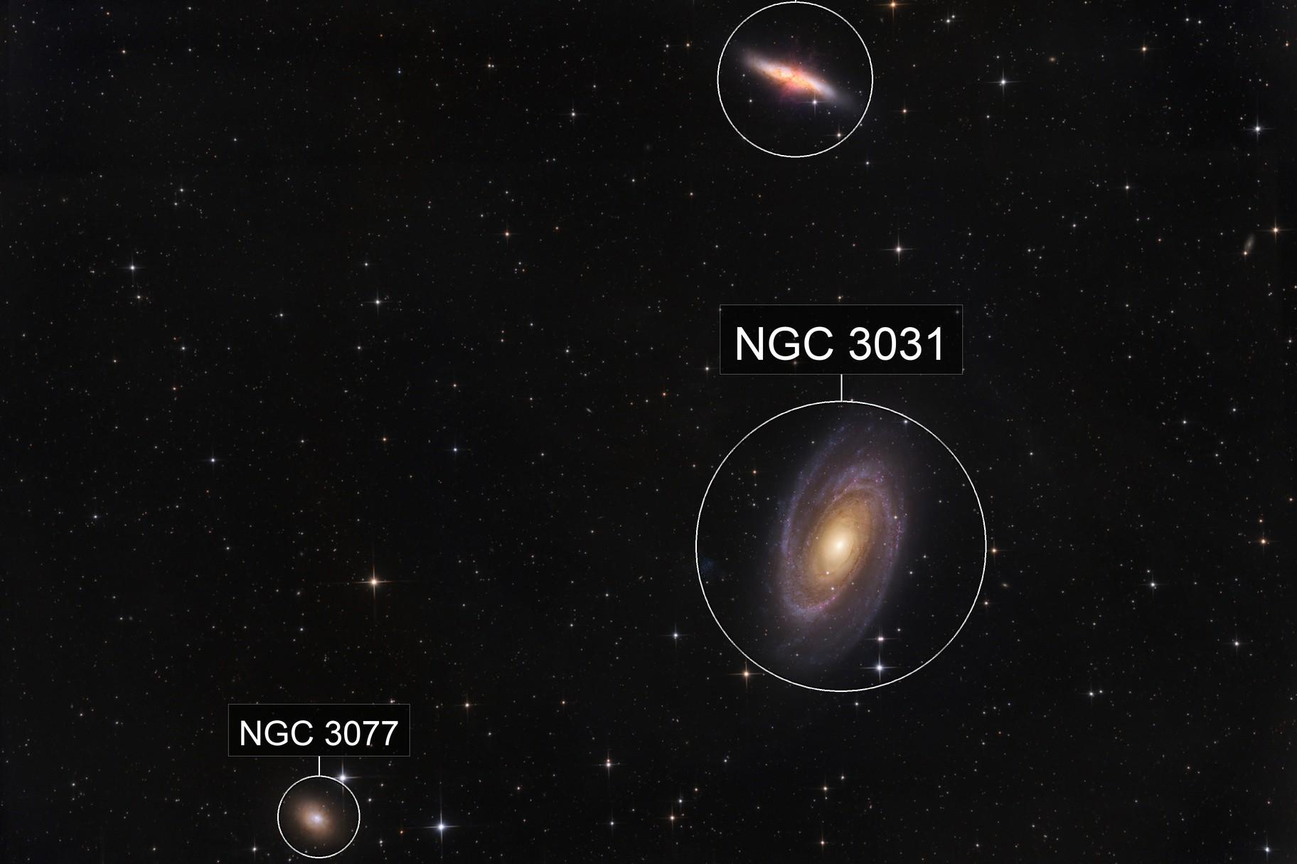 M81 galaxy group