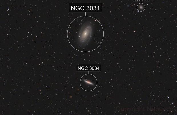 M81 - M82 Widefield
