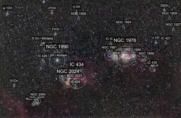 Zentraler Orion