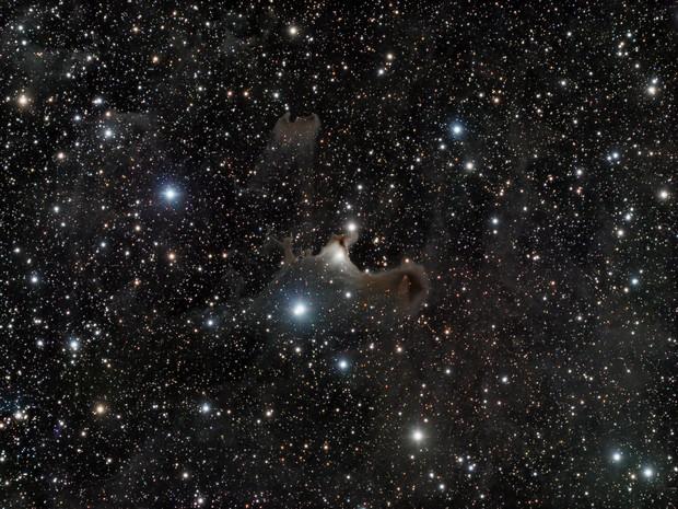 "sh2-136 ""Ghost Nebula"" in Cepheus - LRGB"