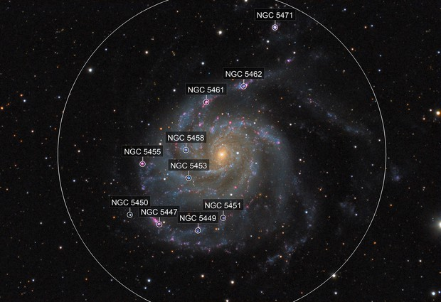Messier 101 revisited