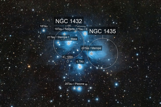 M 45 - The Pleiades