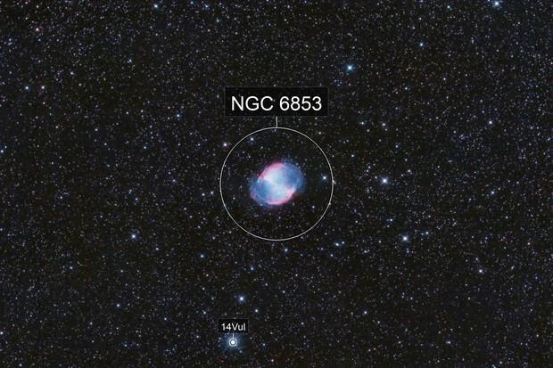 M 27 - Dumbbell Nebula