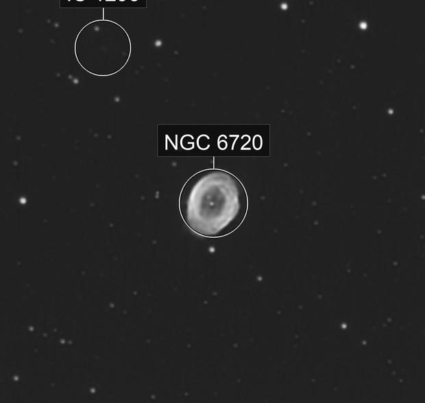 M 57: Ring Nebula (Lucky imaging)