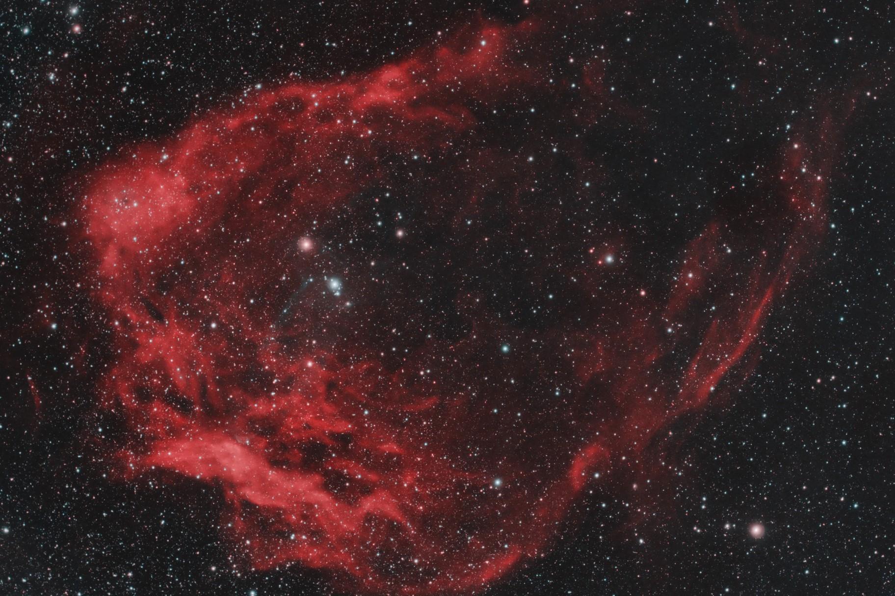 SH2-129: Nebulosa Calamaro