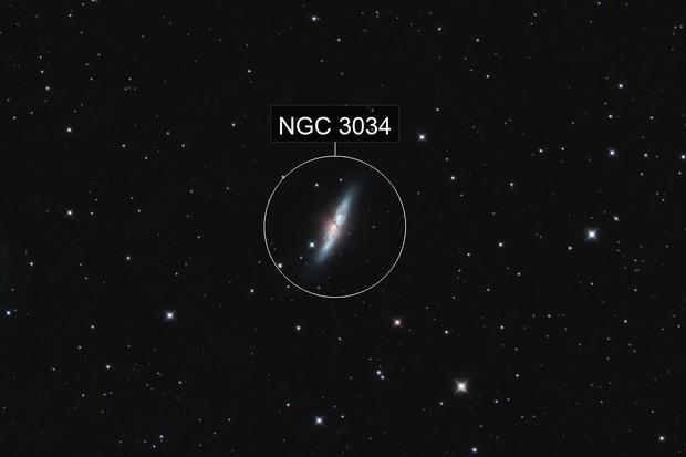 M 82 - Cigar Galaxy