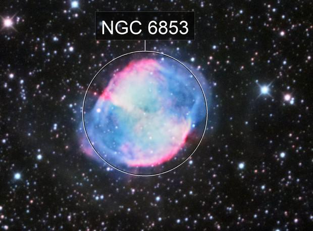 M 27: the Dumbbell Nebula