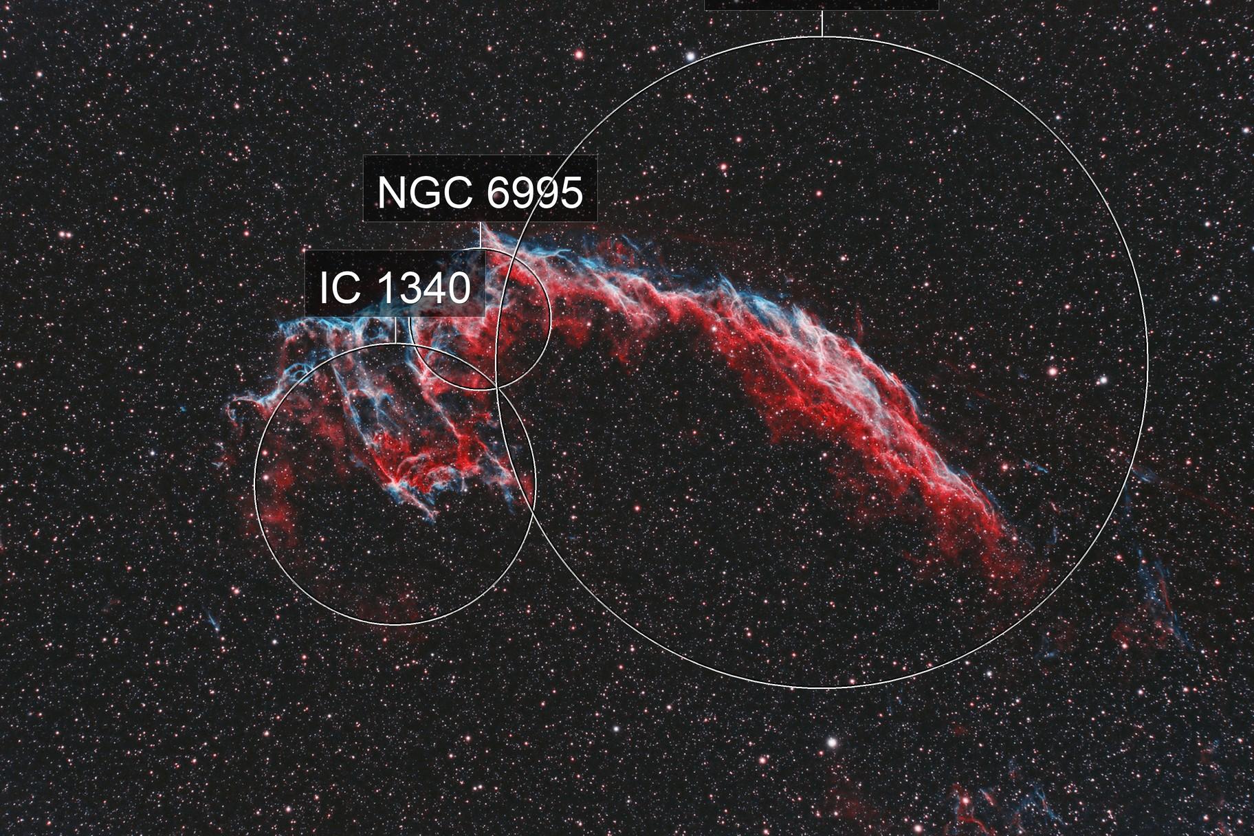 NGC 6992 - The Veil Nebula