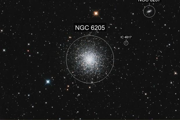 M 13 - Great Hercules Cluster