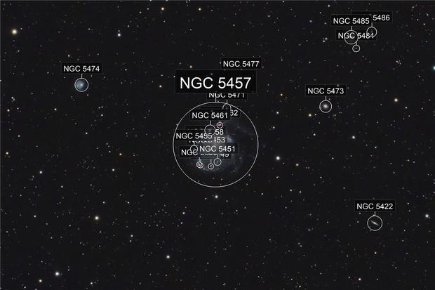 M 101: The Pinwheel Galaxy
