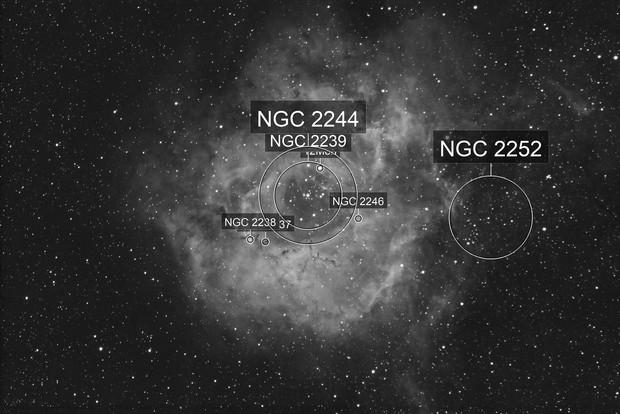 Rosette Nebula (Ha w/DSLR)