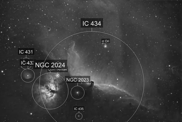 Horsehead Nebula (DSLR with 7nm Ha filter)