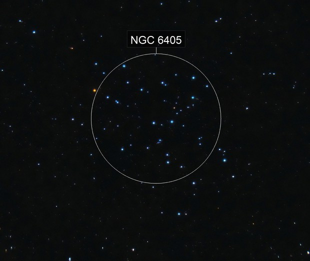 Butterfly Cluster / M 6 / NGC 6405