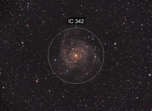 Hidden Galaxy
