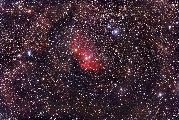 Nebulosa Tulipano Sh2-101 (PixInsight elab).